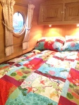 Two duvets...no sharing on this boat