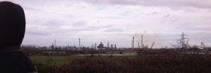 oil refinery