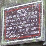 Cadbury sign