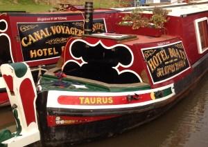 hotel boats on Saltisford arm