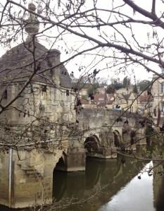 The Town Bridge -lockup on the left