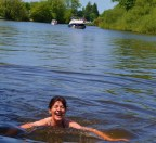 swimming in Thames