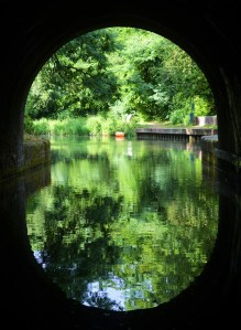 end of Blisworth Tunnel