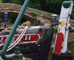 wooden work boats Portland Basin