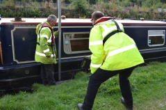 measuring for Standedge tunnel