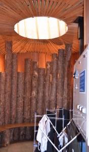 boaters' hut New Islington marina Manchester