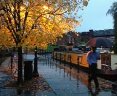 Castlefield in the rain