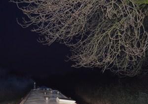 dark on Trent and Mersey