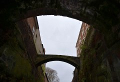 canal Chester city wall