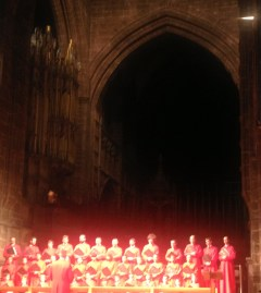 carols in Chester Cathedral