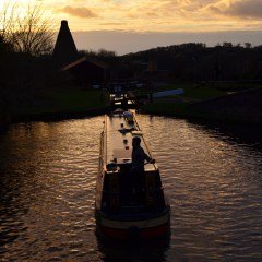 Stourport Locks towards Red House Glass Cone