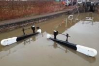 Stourport bottom lock January