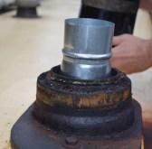 stopping the chimney gunk
