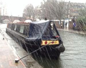 snowy sleet in Birmingham