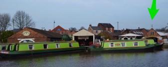 Canal Cruising Stone - dry dock