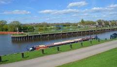 moored at National Water Sport Centre - River Trent