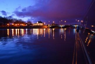 moored at Trent Bridge