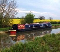 moored at Wistow, Grand Union Leicester Branch