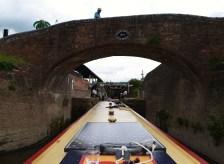 Upper Severn Bridge no.1 into Stourport Basin