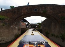 Upper Severn Bridge no.1 into Stourport Basin