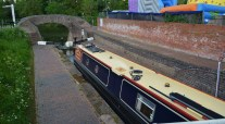 Stourport bottom lock today