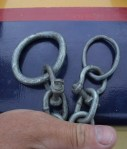 bent mooring chain