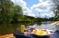 lunch on River Avon