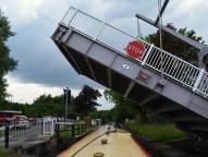 plank lane lift bridge