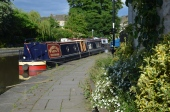 moored in Skipton