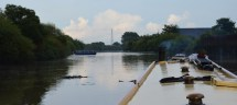 boat turning for Selby Lock