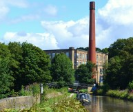 Bollington Mill - Macclesfield canal