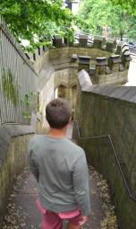 walking the wall York