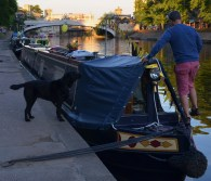 moored in York