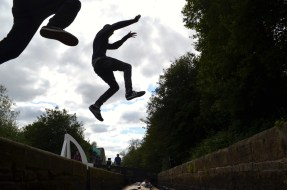 Huddersfield lock jumpers