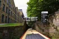 start of Huddersfield Narrow