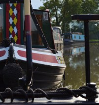 Rose and Castle moorings Ansty