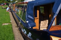 moored in Thrupp