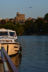 moored in Windsor
