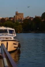 moored in Windsor