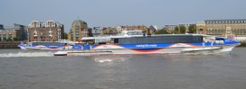 Clippers passing Limehouse Lock