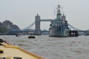 Tower Bridge, HMS Belfast