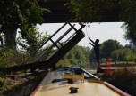 lift bridge into Oxford