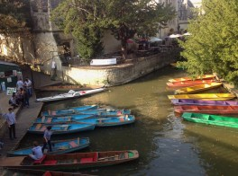 Oxford hire boats