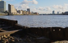 Thames at Isle of Dogs