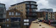 London Canal Museum mooring